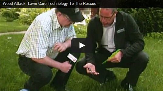 Weed Attack: Lawn Care Technology To The Rescue
