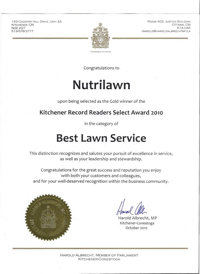 kitchener-award