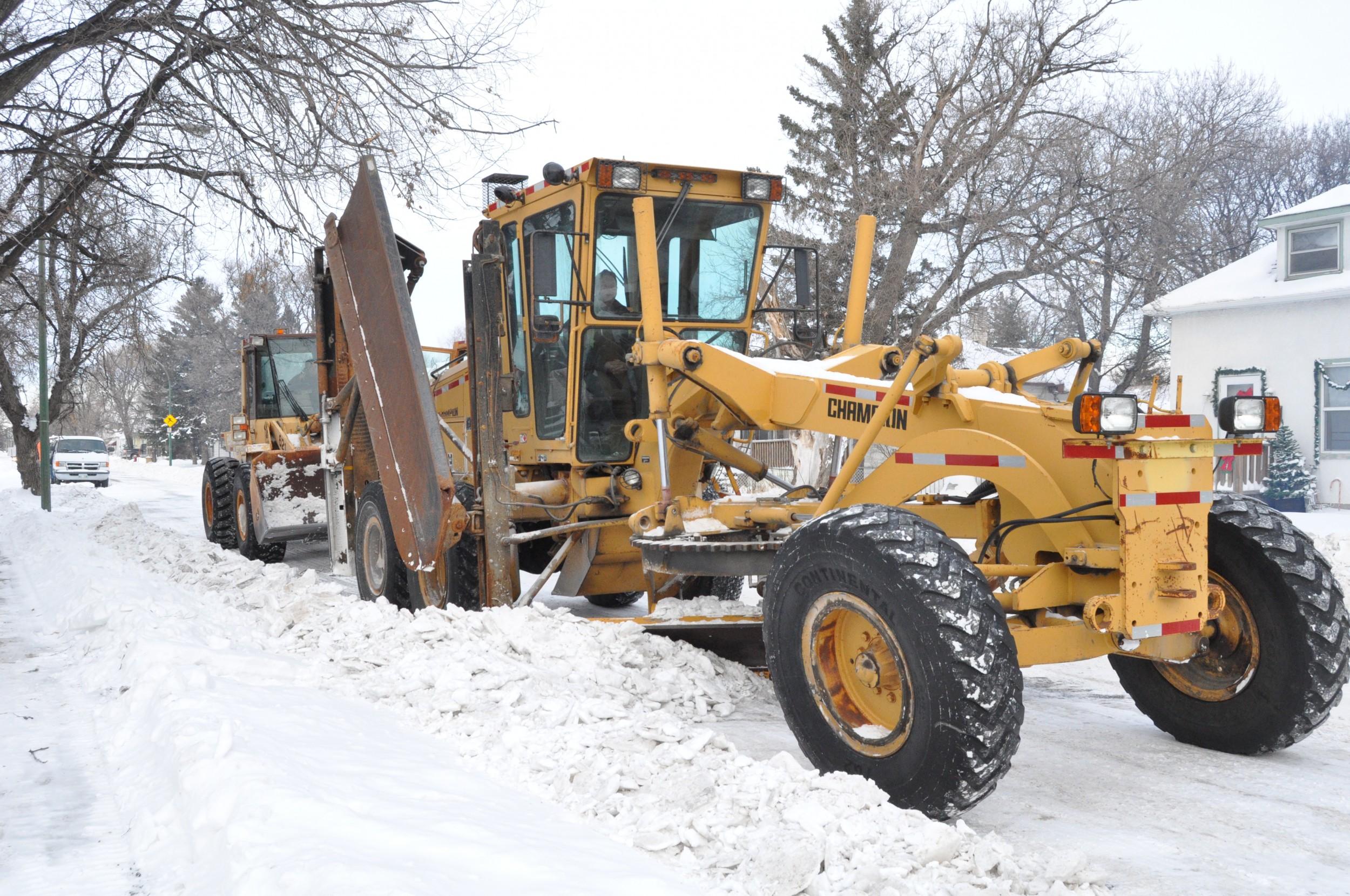 Snow Plow Damage