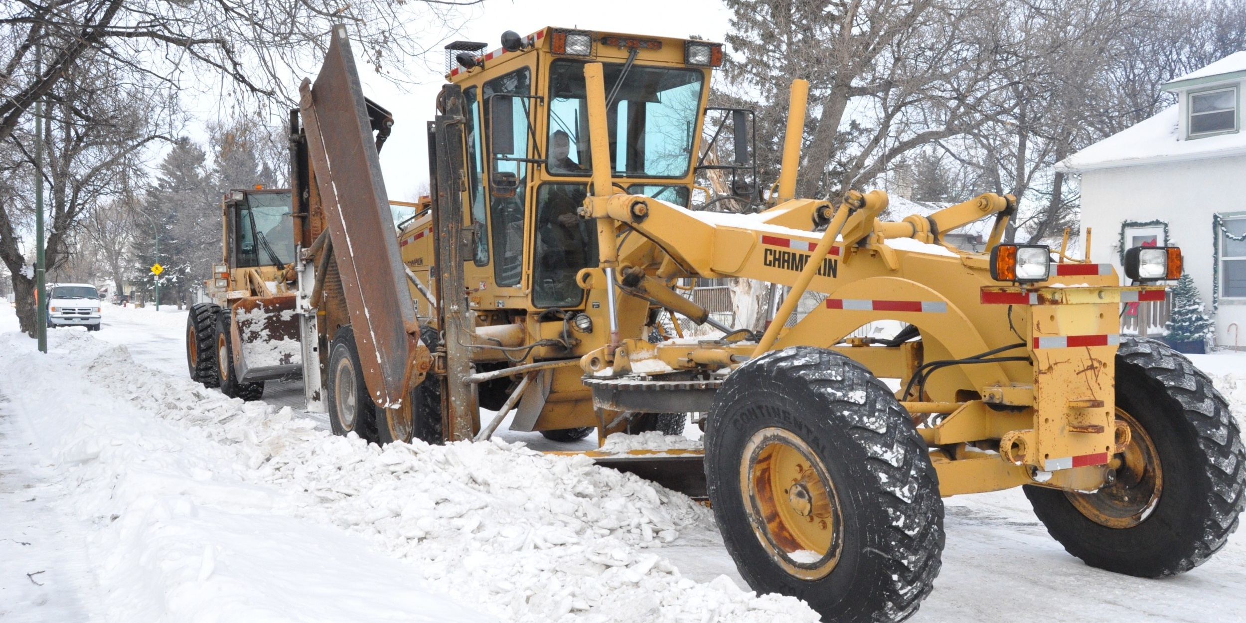 There are numerous repair options for snow plow damage.