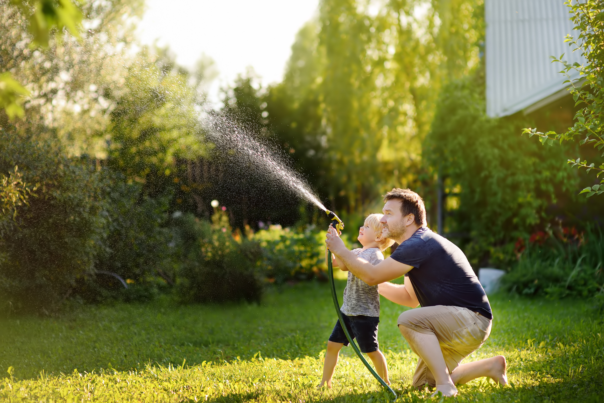 Watering tips for spring.