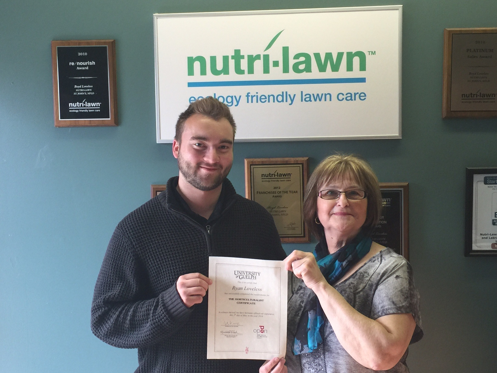 Ryan receives his Horticulture Certificate - Featured Image
