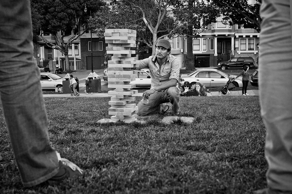 Summer Lawn Games: Giant Jenga - Featured Image